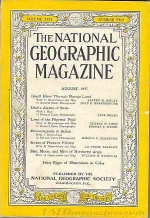 National Geographic August 1947