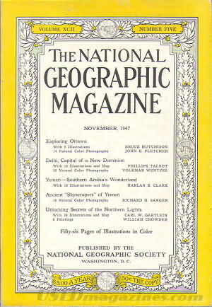 National Geographic November 1947