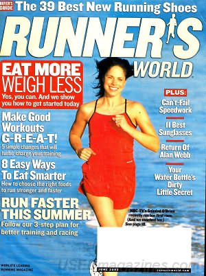 Runner's World June 2003