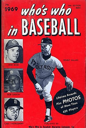 Who's Who in Baseball 1969