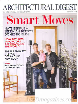 Architectural Digest October 2015