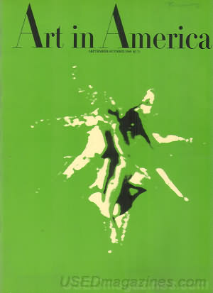 Art in America September/October 1969