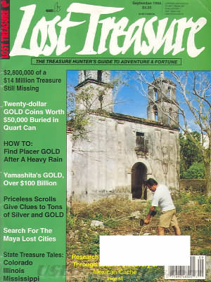 Lost Treasure September 1994