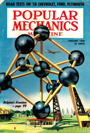 Popular Mechanics January 1958