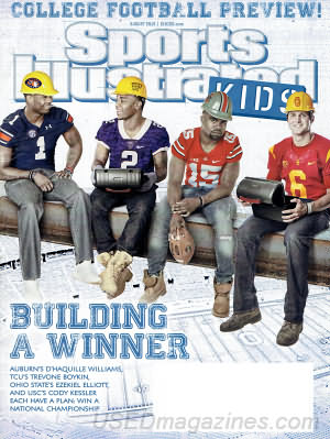 Sports Illustrated Kids August 2015