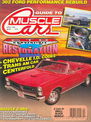 Guide to Muscle Cars April 1990