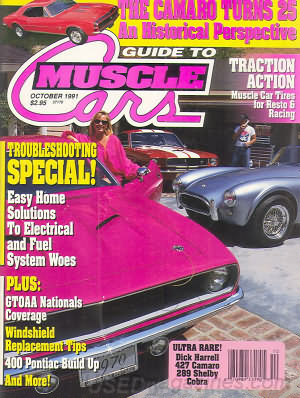 Guide to Muscle Cars October 1991