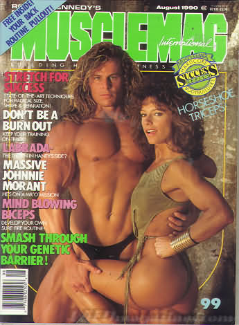 MuscleMag August 1990