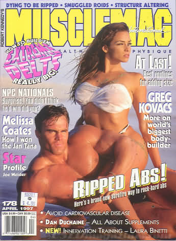 MuscleMag April 1997