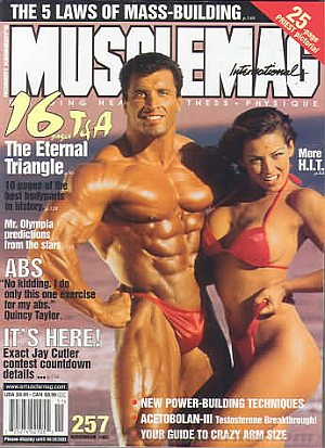 MuscleMag November 2003
