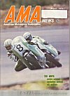 American Motorcycle Association News August 1972