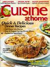 Cuisine at home April 2012