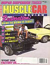 Muscle Car Review March 1990