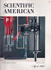 Scientific American April 1963