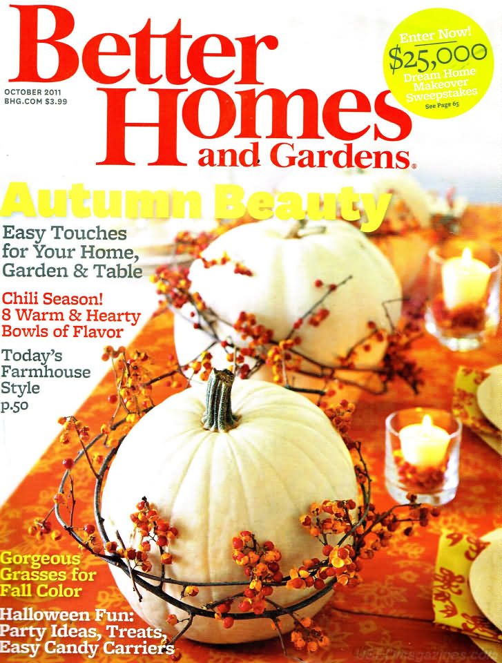 Better Homes And Gardens October 2011