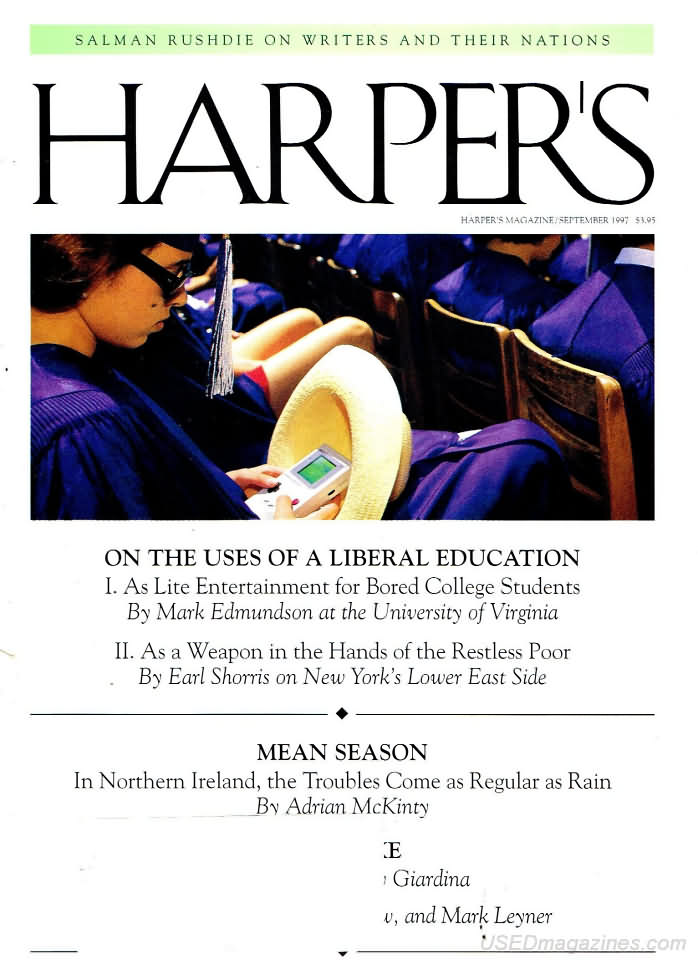 """an analysis of the essay on the uses of a liberal education as lite entertainment for bored college  Rhetorical analysis-mark edmundson """"on the uses of liberal education,"""" written by mark edmundson throws around the idea that college education is."""
