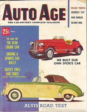 Auto Age August 1953