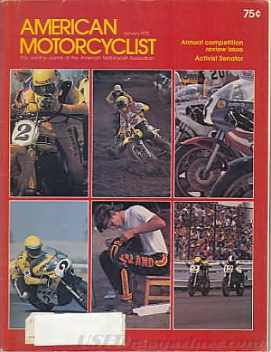 American Motorcyclist January 1978