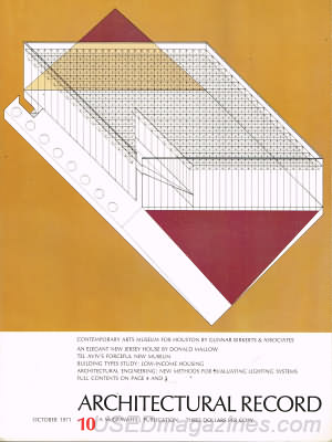 Architectural Record October 1971