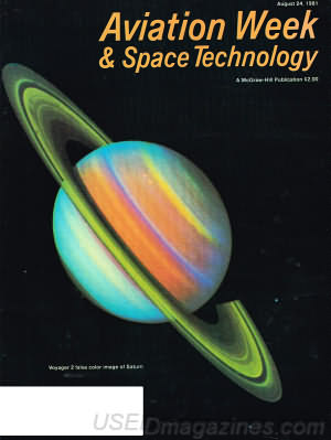 Aviation Week & Space Technology August 24, 1981