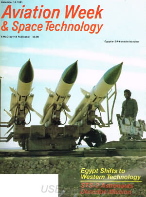 Aviation Week & Space Technology December 14, 1981