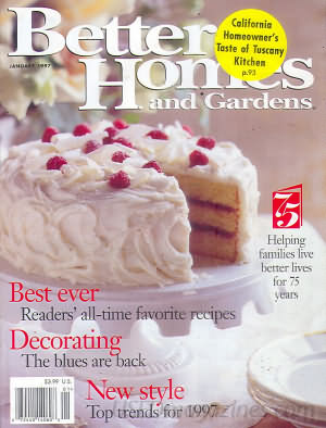 Better Homes and Gardens January 1997