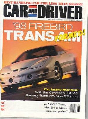 Car and Driver June 1997