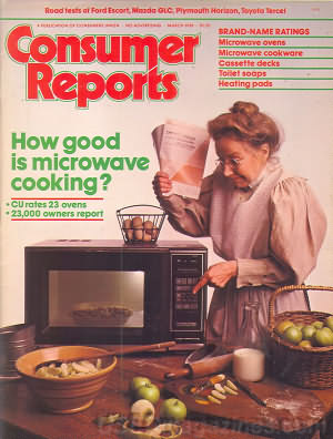 Consumer Reports March 1981