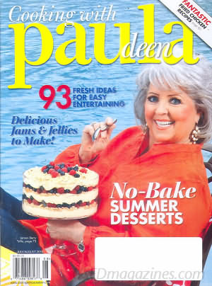 Cooking with Paula Deen July/August 2010