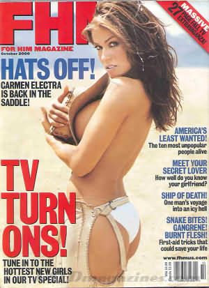 FHM (For Him Magazine) October 2000