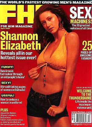 FHM (For Him Magazine) April 2001 #10