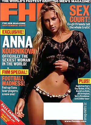 FHM (For Him Magazine) September 2002