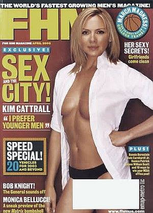 FHM (For Him Magazine) April 2003