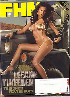 FHM (For Him Magazine) March 2007
