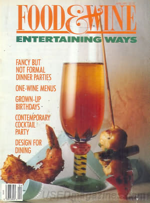 Food & Wine April 1991