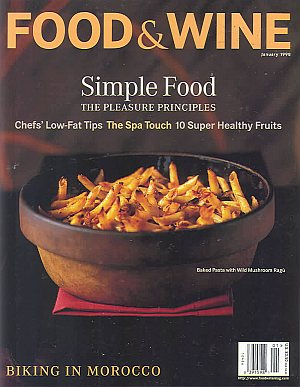 Food & Wine January 1998