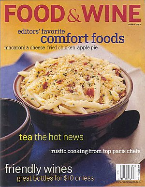 Food & Wine March 1999