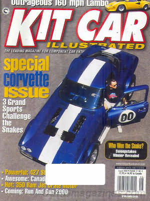 Kit Car Illustrated August 2000