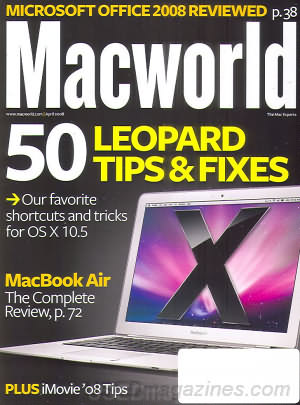 Macworld April 2008