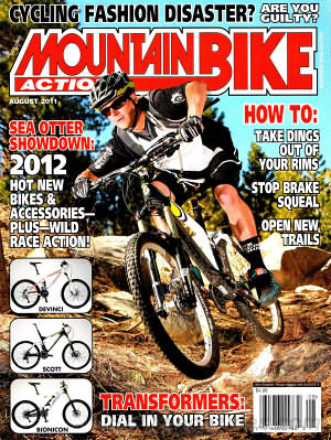 Mountain Bike Action August 2011