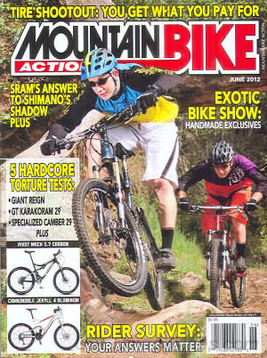 Mountain Bike Action June 2012