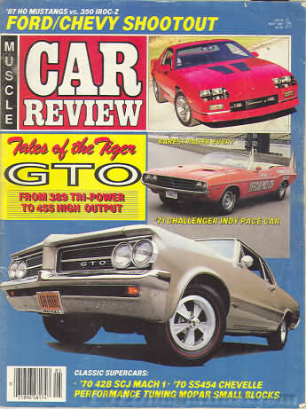 Muscle Car Review May 1987