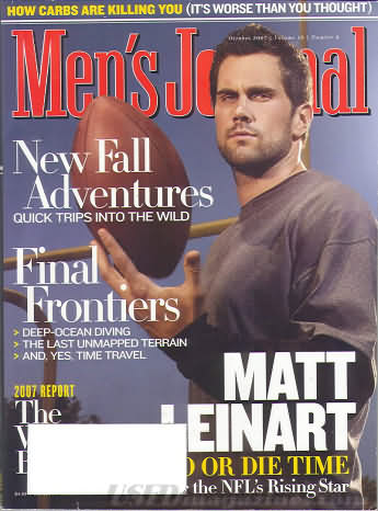 Men's Journal October 2007