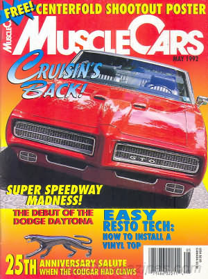 Muscle Cars May 1992