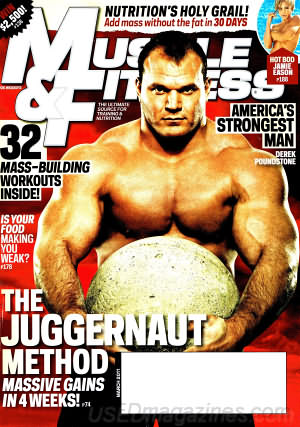 Muscle & Fitness March 2011