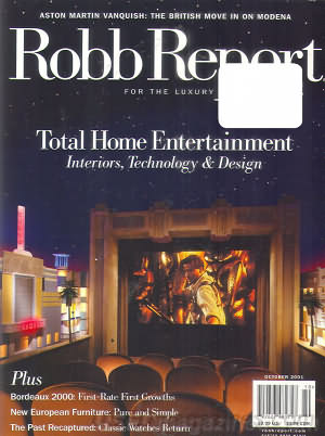 Robb Report January 2001