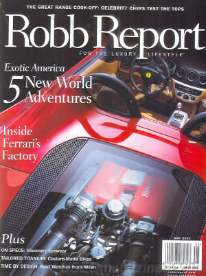 Robb Report May 2002
