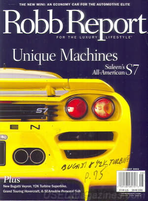 Robb Report August 2002