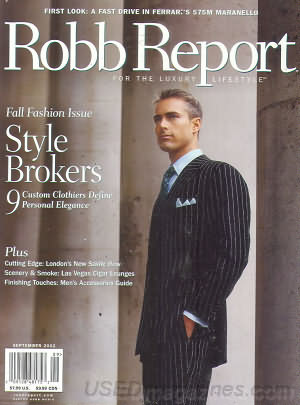 Robb Report September 2002