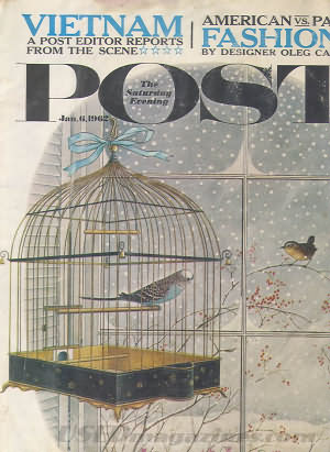 Saturday Evening Post January 06, 1962